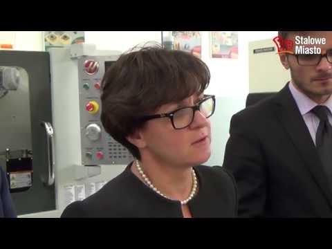 Minister Edukacji Narodowej Joanna Kluzik Rostkowska w Stalowej Woli