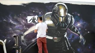 Graffiti Star Wars 2012