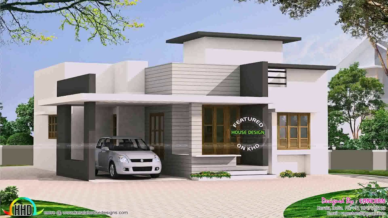 Front Design Of House In Small Budget Single Floor - Gif ...