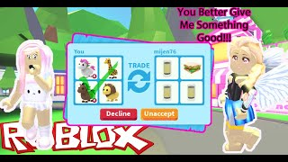 I Accepted ALL Trades For 24 Hours In Roblox Adopt Me