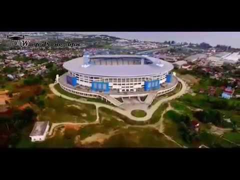 Stadion Persiba Balikpapan terbaru standart stadion eropa ngeriiii !!!
