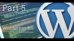 WordPress 101 - Part 5: How to create Custom and Specialized Page Templates