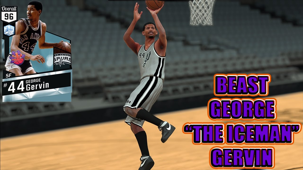 NEW BEAST DIAMOND GEORGE GERVIN NBA 2K17