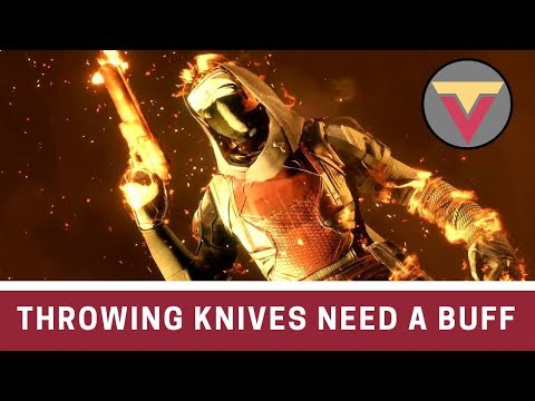Throwing Knives Need a Buff