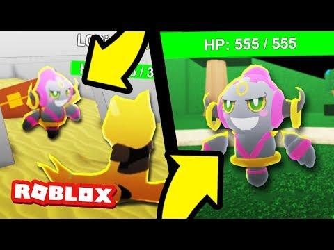 New HOOPA in Pokemon Legends! (Roblox Pokemon)