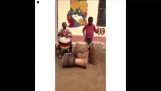 [Culture] Jeunes tambourinaires talentueux du groupe culturel Nkabom (Ghana)