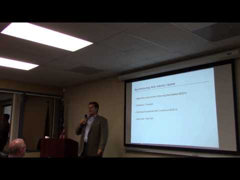 San Diego Note Investment Club - 2014 Non Performing Note Update Part 1