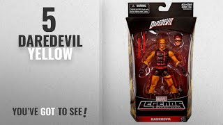 Top 10 Daredevil Yellow [2018]: Marvel Legends Infinite Series Daredevil 6 Inch Yellow Exclusive