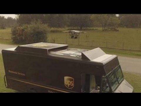 UPS testing drone delivery service