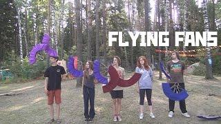 FLYING FANS / Жонглирование Веерами 2.0