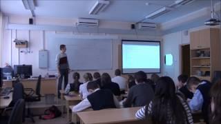 Школа 2053. Фрагменты урока информатики