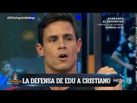 """Edu Aguirre DEFIENDE a Cristiano: """"Tiene CRÉDITO para estar meses SIN MARCAR"""""""
