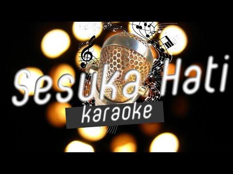 Karina Salim - Sesuka Hati (karaoke/minusone/lirik/no vokal)
