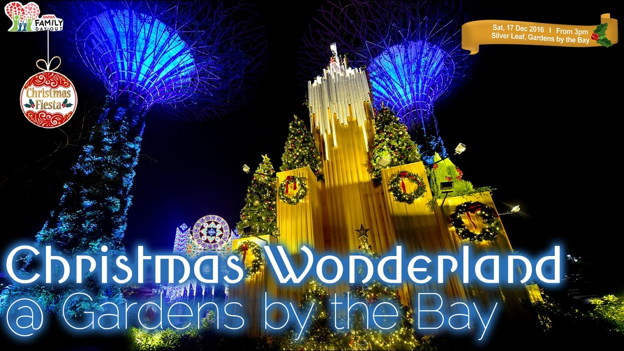 Garden By The Bay Deal christmas wonderland at gardensthe bay - youtube