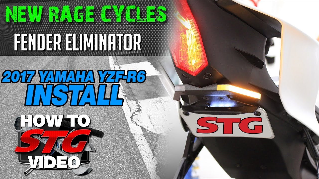 New Rage Cycles Yamaha R6 Fender Eliminator 2017-Present