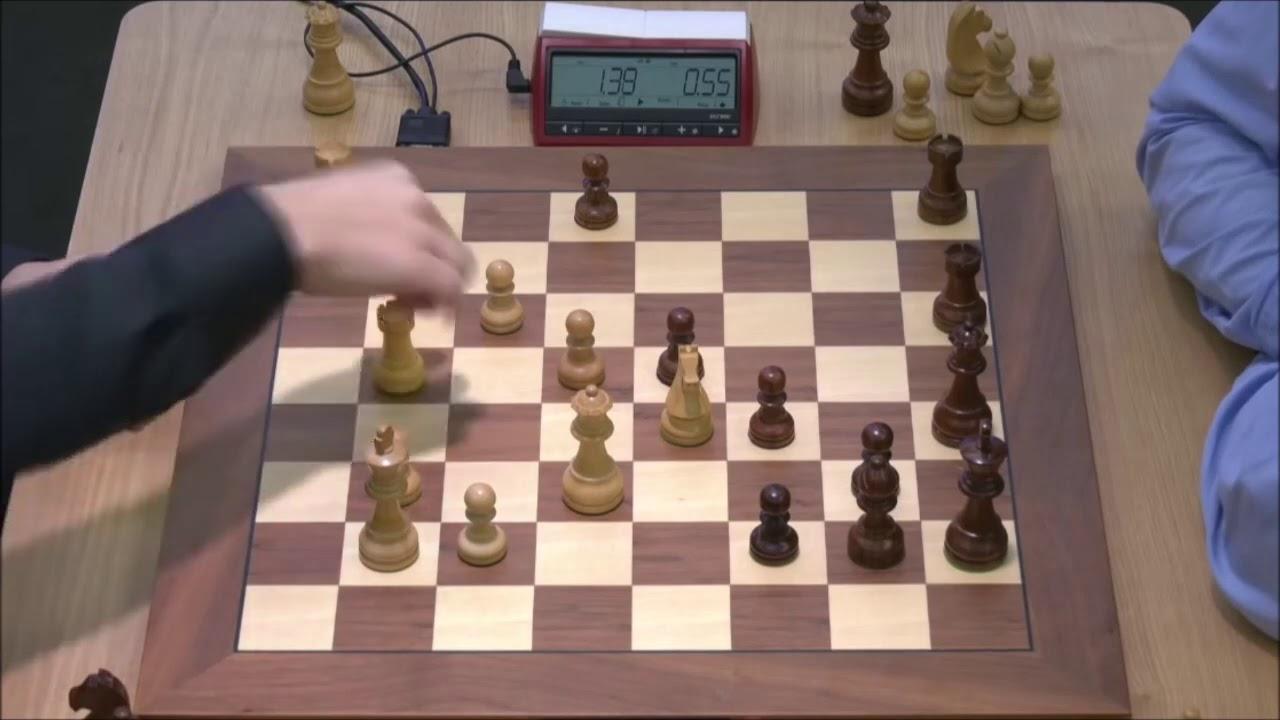 Download GM Carlsen (Norway) - GM Kramnik (Russia) 5m + PGN