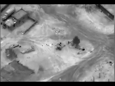 US strike against Syrian regime forces and Russian mercenaries in Deir ez Zor 7.02.2018