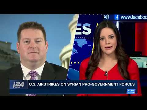 The U.S. Coalition Strikes Back Against Pro-Assad Forces in Eastern Syria