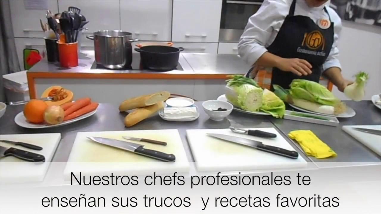 Curso de cocina para principiantes youtube - Cursos de cocina en barcelona para principiantes ...