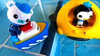Видео с игрушками - Октонавты и подводные приключения - Игрушки из мультфильма