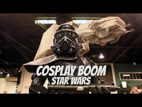 Star Wars has amazing cosplayers, watch a few in action