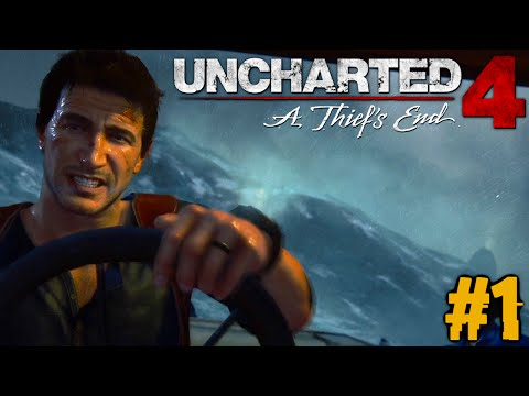 UNCHARTED 4 : Let's Play #1 [FACECAM] - OMG PURE GÄNSEHAUT !!