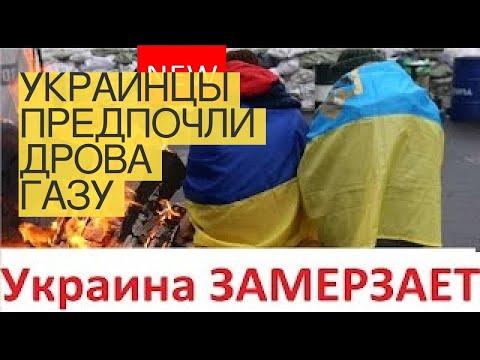 Украинцы предпочли дрова газу
