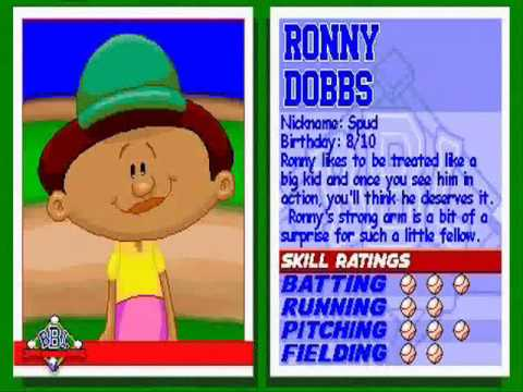 The Original Backyard Baseball Characters Ranked By Joey Held Medium