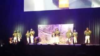The Survey Corps Dance Crew - Anime Expo Masquerade 2014