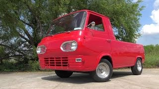 America's lowest priced pickup - Ford Econoline 1961 COE