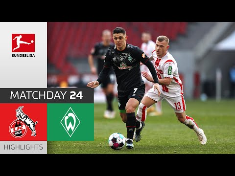 Köln Werder Bremen Goals And Highlights
