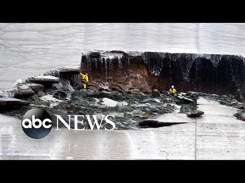 Major California Reservoir Heavily Damaged