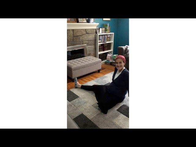 Prenatal Stretches- Demo (Pelvic Pearls- Dr. Riva Preil, Pelvic Floor Physical Therapist)