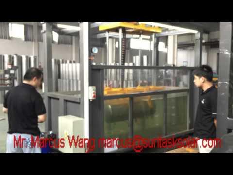 Suntask Solar Pressurized inner tank pressure resistance test 0 8MPa