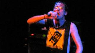 Subhumans - Mickey Mouse is Dead live NYC 2009