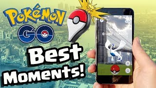POKEMON GO LEGENDARY CATCHING MOMENTS...!! | Pokemon GO Best Bits