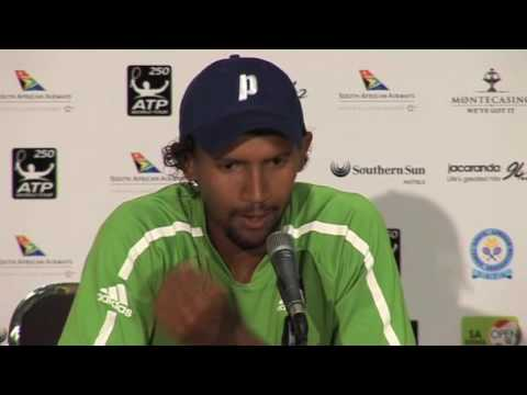 Johannesburg 2010 Tuesday Interview Klaasen