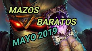 Hearthstone   MAZOS BARATOS   Actualizado   MAYO 2019   AUGE de las SOMBRAS   Como subir rangos