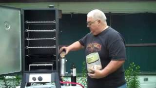 Smoke Daddy Vertical Gas Smoker