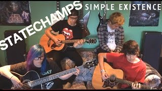Gambar cover Simple Existence - No Heroes Allowed (State Champs Cover)