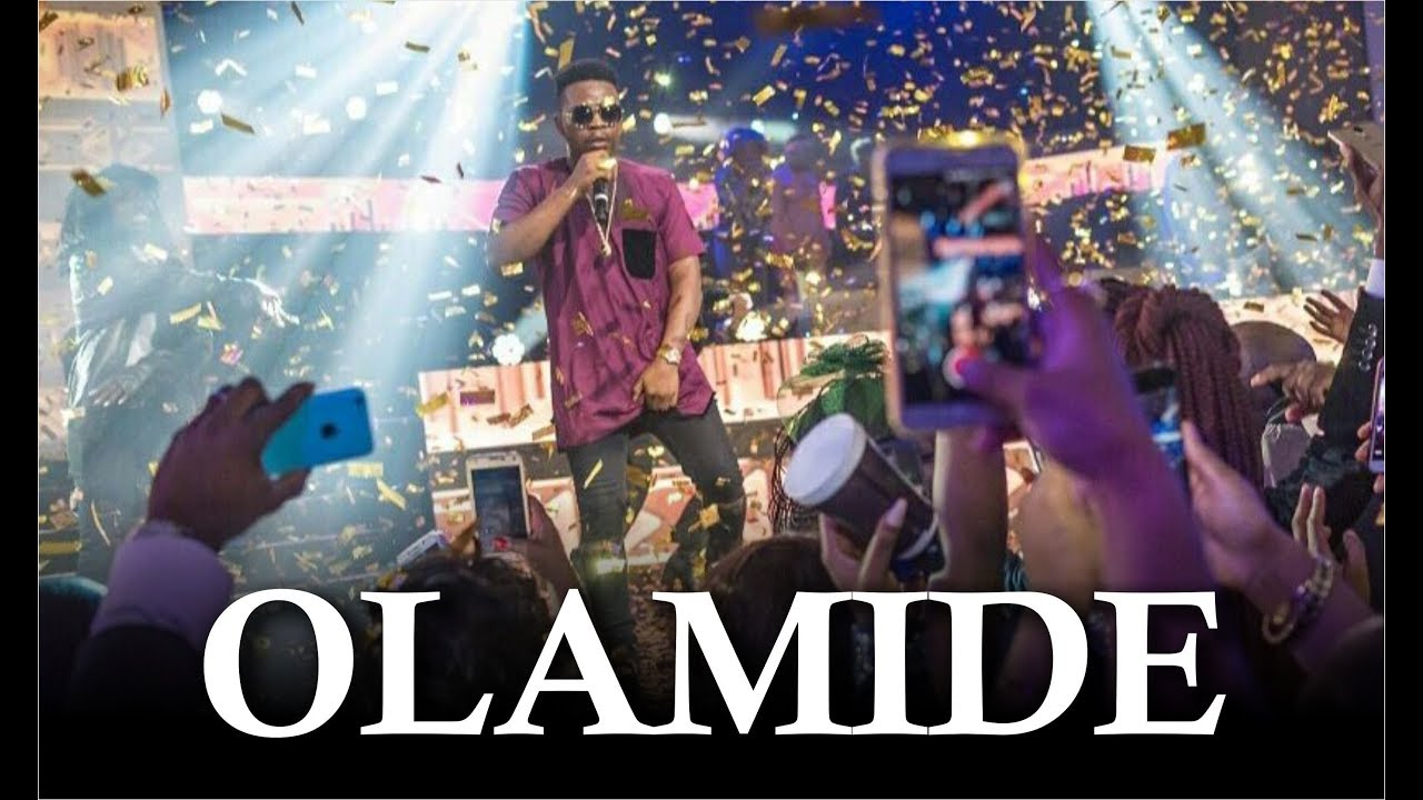 Download OLAMIDE LATEST LIVE PERFORMANCE 2018
