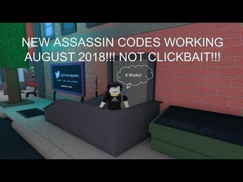 Assassin Codes Working June 2019 Not Clickbait Youtube