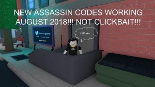 ASSASSIN CODES WORKING JUNE 2019!!! (NOT CLICKBAIT)