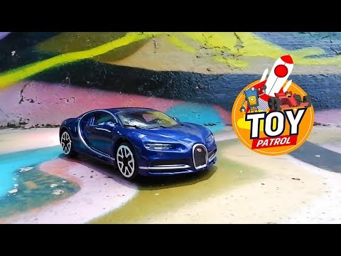 BUGATTI CHIRON TOY CAR REVIEW | CAR PATROL | CARS FOR KIDS l LEARNING CARS /DIECAST