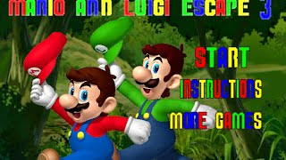 MARIO AND LUIGI ESCAPE 3 Level 1-15 Walkthrough