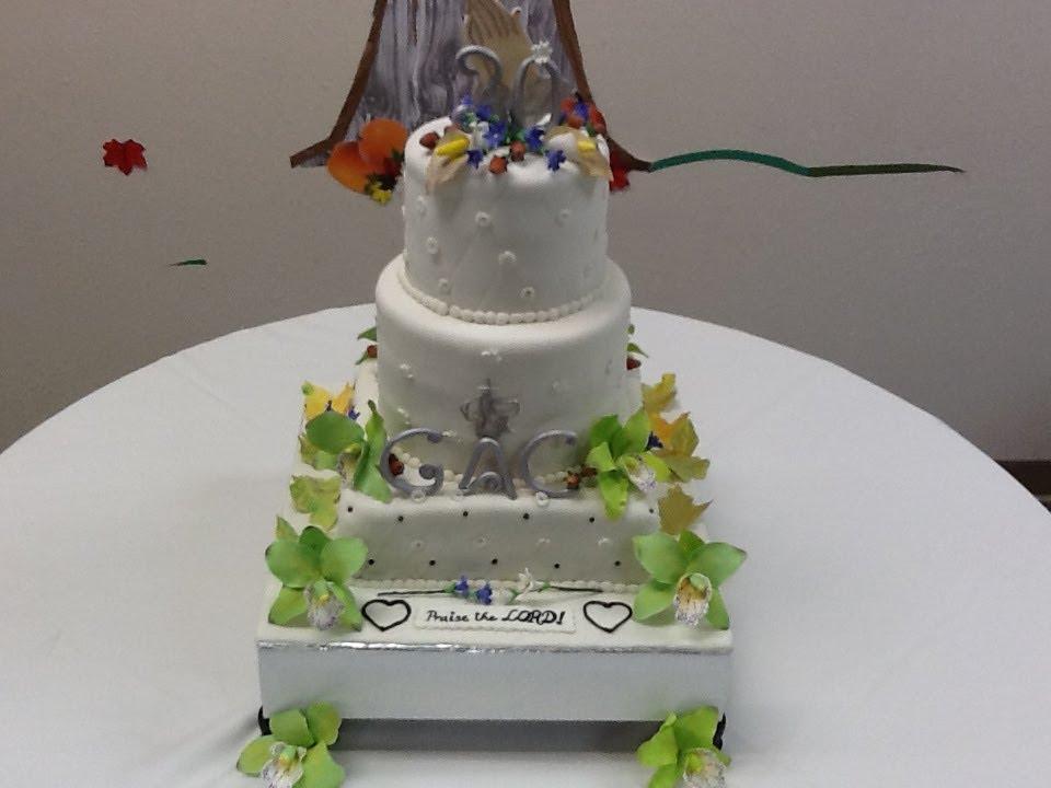 How To Make A Church Cake
