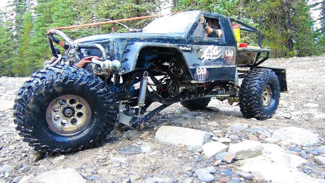 Rc adventures ttc 2013 tank trap 4x4 tough truck challenge youtube