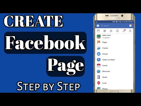 How to Create Facebook Page Easily