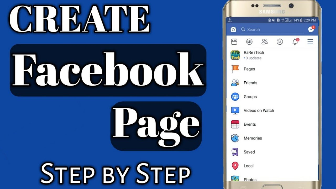 How to Create Facebook Page Easily 2020