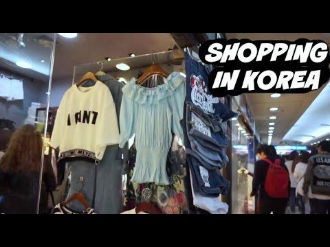 Shopping in Korea! 부산에서 쇼핑